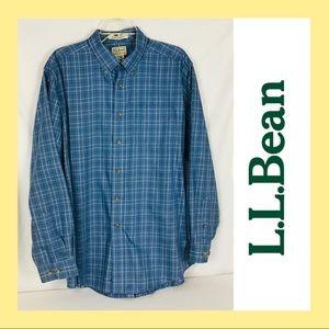 L L Bean men's shirt Large reg.